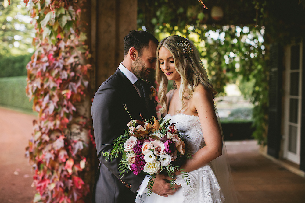 Andrea and James Wedding, Bendooley Estate, Bendooley Book Barn, Berrima Southern Highlands. NSW, Australia<br />