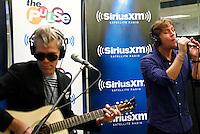 Rob Thomas and Kyle Cook of Matchbox 20 performing at SiriusXM studios in New York on September 4, 2012 ..Photo Credit ; Rahav Iggy Segev / Photopass.com