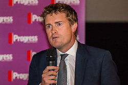 © Hugo Michiels Photography. Brighton, UK. MP for Stoke-on-Trent Tristram Hunt at the Brighton Labour conference 2015 Progress rally. Photo Credit: Hugo Michiels