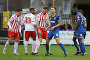 Paul Robinson of AFC Wimbledon in action during the Sky Bet League 2 match between AFC Wimbledon and Stevenage at the Cherry Red Records Stadium, Kingston, England on 12 December 2015. Photo by Stuart Butcher.