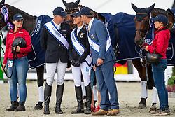 Klimke Ingrid, GER, Horseware Hale Bob, Dibowski Andreas, GER, FRH Corrida <br /> European Championship Eventing<br /> Luhmuhlen 2019<br /> © Hippo Foto - Stefan Lafrentz<br /> 01/09/2019