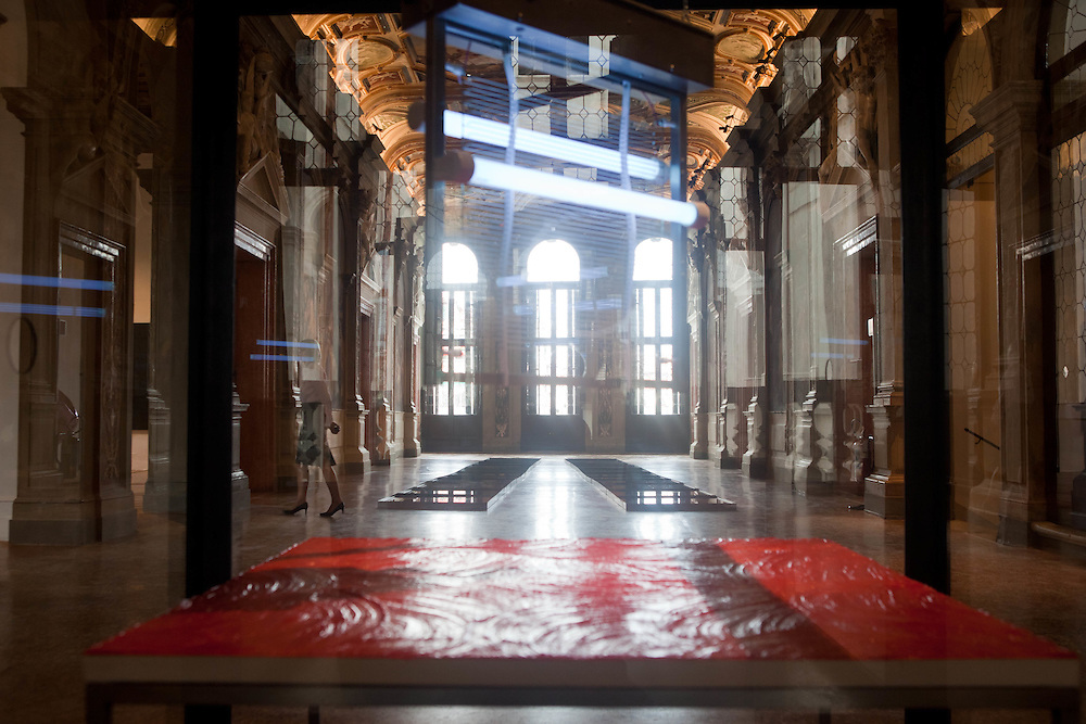 ITALY - Italien - Kunst - 54 th ART BIENNALE VENICE;  la Biennale di Venezia.54th International Art Exhibition Awards.ILLUMInazioni - Here: PRADA ART FOUNDATION; Fondazione Prada; Canale Grande, Venedig; 02.06.2011; © Christian Jungeblodt