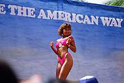 Bikini contest, Waikiki, Oahu, Hawaii