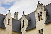 Chateau du Rivau, 15th and 16th Century Renaissance architecture, near Chinon in the Loire Valley, France