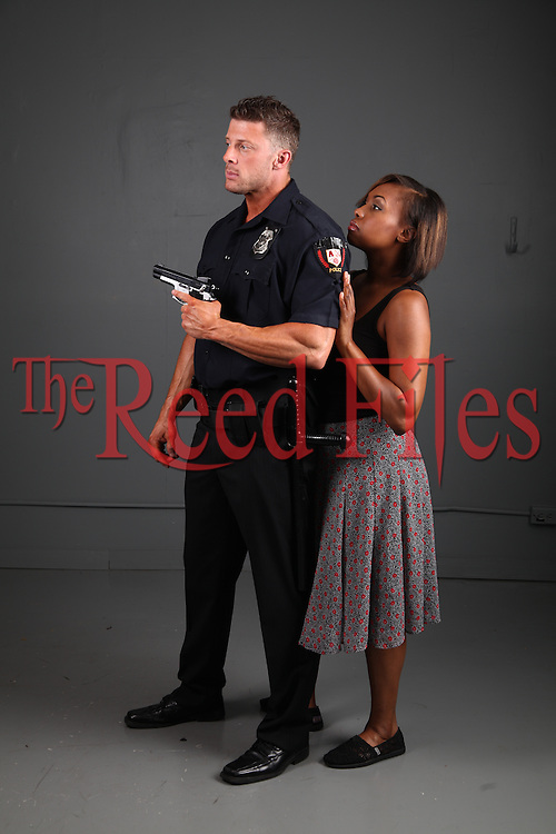 The Reed Files: Interracial Police Officer Stock