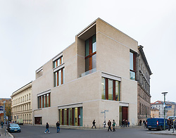 Exterior view of Galerie Bastian private art gallery in Berlin