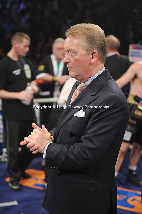 """Frank Warren at the Echo Arena, Liverpool,11th December 2010,Frank Warren.tv Promotions """"Return Of The Magnificent Seven"""" © Photo Leigh Dawney"""