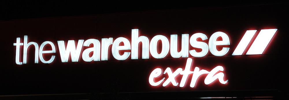 The Warehouse Extra store, Te Awa shopping centre, Te Rapa, Hamilton, New Zealand, Wednesday, June 21, 2012. Credit:SNPA / Ross Setford