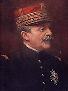 General Fernand de Langle de Cary (1849-1931) French soldier who entered the Army in 1869. In the First World War he commanded the French Fourth Army in 1914. Retired on grounds of age after his failure at Verdun 1916. W