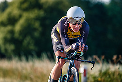 Koen Bouwman of Lotto NL - Jumbo, Dutch Individual Time Trial Nationals Men Elite, Stokkum, Montferland, The Netherlands, 21 June 2017. Photo by Pim Nijland / PelotonPhotos.com | All photos usage must carry mandatory copyright credit (Peloton Photos | Pim Nijland)