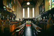 Chapel at Jesus College, Cambridge University, England, UK
