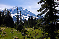 Mount Rainier hiking trip 2009