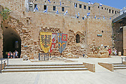 Israel, western Galilee, Acre, The crusaders fort later converted and used by the British as a prison.