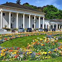 Kurhaus Casino and Kurgarten in Baden-Baden, Germany <br />