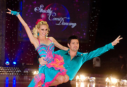 Tom Chambers and Camilla Dallerup pose at the Strictly Come Dancing on tour Photo call MEN Arena 21 January 2009 © Paul David Drabble