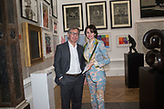 PETR AVEN; KATARINA AVEN, Royal Academy Summer Exhibition party. Burlington House. Piccadilly. London. 6 June 2018