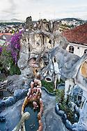 "Outside architecture of ""The Crazy House"", Da Lat, Vietnam, Souhteast Asia"