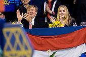 Jumping Amsterdam - Willem-Alexander en prinses Amalia