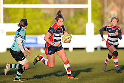 Amelia Buckland Hurry (c) of Bristol Ladies - Mandatory by-line: Paul Knight/JMP - 04/12/2016 - RUGBY - Cleve RFC - Bristol, England - Bristol Ladies v Worcester Valkyries - RFU Women's Premiership