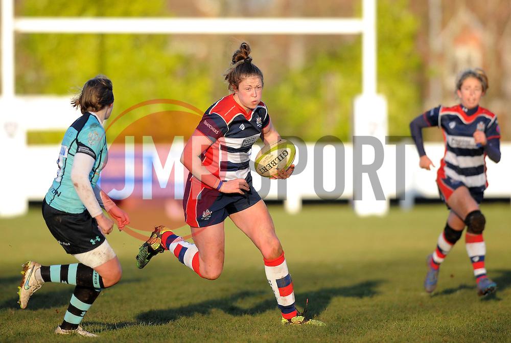 Amelia Buckland Hurry (c) of Bristol Ladies - Mandatory by-line: Paul Knight/JMP - 04/12/2016 - RUGBY - Cleve RFC - Bristol, England - Bristol Ladies v Worcester Valkyries - RFU Women's Premiership