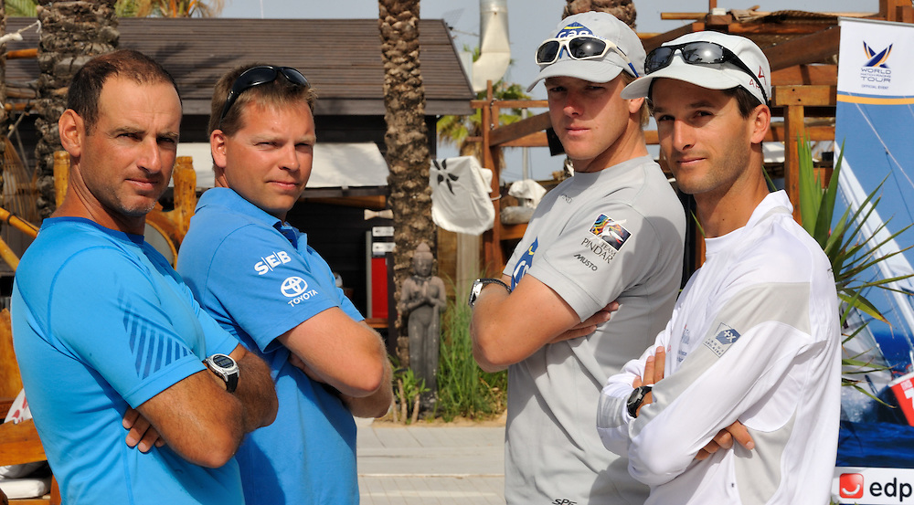 Bruni, Richard, Berntsson and Williams line up for the semi finals. Photo:Chris Davies/WMRT