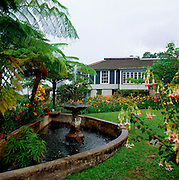 Old Strawberry Hill House Before Hurricane Gilbert - Jamaica