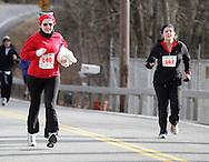 Salisbury Mills, New York - Runners compete in the Orange Runners Club Jingle Jog 7K race on Dec. 4, 2010.