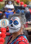 Dia de los Muertos Marigold Parade