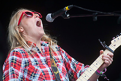 Lissie, the American folk rock artist, plays on the main stage..Rockness, Sunday, 12th June 2011..RockNess 2011, the annual music festival which takes place in Scotland at Clune Farm, Dores, on the banks of Loch Ness near Inverness..Pic ©2011 Michael Schofield. All Rights Reserved..
