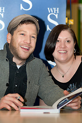 "X Faxtor 2010 Winner Matt Cardle signs copies of his book ""MY Life"" at WH Smith branch in Meadowhall Shopping Centre Sheffield Lunchtime on Wednesday 2 March 2011.Images © Paul David Drabble"
