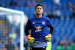 Nathan Baxter of Chelsea warms up - Mandatory by-line: Robbie Stephenson/JMP - 15/08/2016 - FOOTBALL - Stamford Bridge - London, England - Chelsea v West Ham United - Premier League