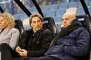 27-02-2016 VOETBAL:VITESSE - WILLEM II:ARNHEM<br /> Trainer/Coach Jurgen Streppel van Willem II en Trainer/Coach Rob Maas van Vitesse <br /> <br /> Foto: Geert van Erven