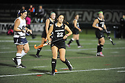 Stevenson women's field hockey moves onto the conference championship after their 3-1 win over Lebanon Valley on Wednesday night at Mustang Stadium in Owings Mills.