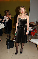 LADY HELEN TAYLOR at a Burns Night supper in aid of Clic Sargent & Children's Hospital Association Scotland hosted by Ewan McGregor, Sharleen Spieri and Lady Helen Taylor at St.Martin's Lane Hotel, 45 St Martin's Lane, London on 25th January 2006.<br />