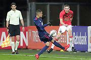 (L-R) Damil Dankerlui of Ajax U23, Mees Hoedemakers of AZ Alkmaar U23
