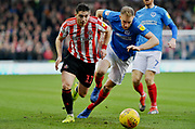 Sunderland midfielder Lynden Gooch (11) during the EFL Sky Bet League 1 match between Portsmouth and Sunderland at Fratton Park, Portsmouth, England on 22 December 2018.