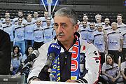 SASSARI 24 Novembre 2015<br /> Presentazione Marco Calvani Dinamo Banco di Sardegna Sassari<br /> NELLA FOTO Marco Calvani <br /> FOTO CIAMILLO