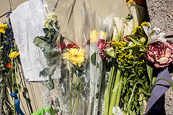 May 9, 2017 - Milan, Italy - Tribute to the young immigrant that commit suicide in Milano Central Station. (Credit Image: © Mairo Cinquetti/Pacific Press via ZUMA Wire)