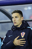 ZAGREB, CROATIA - NOVEMBER 09: Portrait of Marin Leovac of Croatia during the FIFA 2018 World Cup Qualifier play-off first leg match between Croatia and Greece at Maksimir Stadium on November 9, 2017 in Zagreb, Croatia. (Luka Stanzl/PIXSELL)