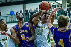 25 November 2019: 49th Intercity Tournament - University High Pioneers v Bloomington Raiders at Shirk Center in Bloomington IL (Photo by Alan Look)