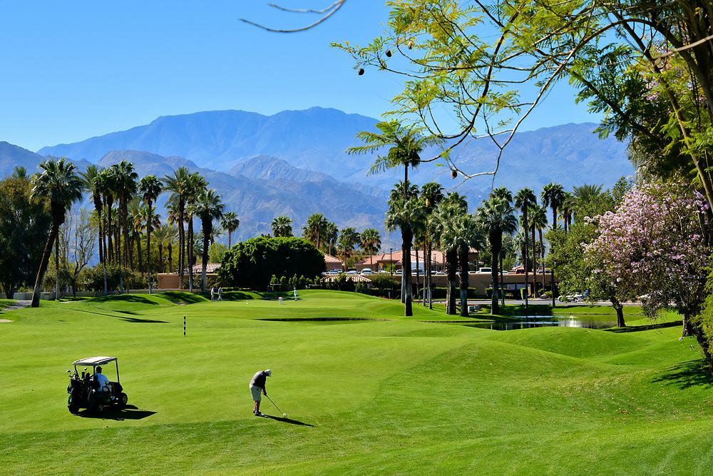 Golfing in Coachella Valley in Palm Desert, California <br />