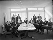 First meeting of Commission of Inquiry on Mental Handicap.<br /> 20.02.1961