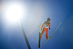Kalle Keituri (FIN) competes during First round of the FIS Ski Jumping World Cup event of the 58th Four Hills ski jumping tournament, on January 6, 2010 in Bischofshofen, Austria. (Photo by Vid Ponikvar / Sportida)
