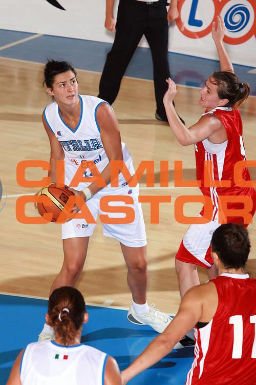 DESCRIZIONE : Bormio Torneo Preparazione Europei Nazionale Femminile 2007 Italia Turchia<br /> GIOCATORE : Fabbri<br /> SQUADRA : Nazionale Italia Donne<br /> EVENTO : Bormio Torneo Preparazione Europei Nazionale Femminile 2007<br /> GARA : Italia Turchia<br /> DATA : 13/08/2007<br /> CATEGORIA : Passaggio<br /> SPORT : Pallacanestro<br /> AUTORE : Agenzia Ciamillo-Castoria/S.Ceretti