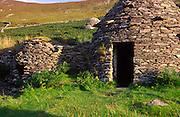 Beehive houses, Slea Head, Dingle peninsula, County Kerry, Ireland