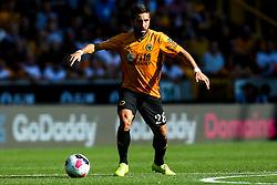 Joao Moutinho of Wolverhampton Wanderers - Mandatory by-line: Robbie Stephenson/JMP - 25/08/2019 - FOOTBALL - Molineux - Wolverhampton, England - Wolverhampton Wanderers v Burnley - Premier League