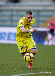 03.02.2019, Stadio Carlo Castellani, Empoli, ITA, Serie A, Empoli FC vs Chievo Verona, 22. Runde, im Bild Emanuele Giaccherini in azione // Emanuele Giaccherini in action during the Seria A 22th round match between Empoli FC and Chievo Verona at the Stadio Carlo Castellani in Empoli, Italy on 2019/02/03. EXPA Pictures © 2019, PhotoCredit: EXPA/ laPresse/ Marco Bucco<br /> <br /> *****ATTENTION - for AUT, SUI, CRO, SLO only*****