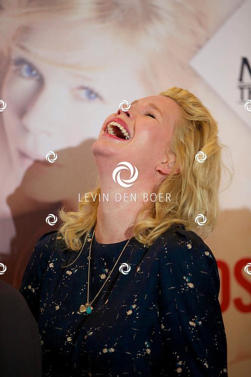 AMSTERDAM - In theater DeLaMar werd de nieuwe zomerkomedie aangekondigd genaamd 'Bedscènes'. Met op de foto  Tjitske Reidinga. FOTO LEVIN DEN BOER - PERSFOTO.NU