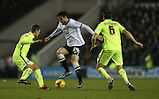 Derby County midfielder George Thorne during the Sky Bet Championship match between Derby County and Brighton and Hove Albion at the iPro Stadium, Derby, England on 12 December 2015.