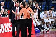 Leka Spiro<br /> Victoria Libertas Pesaro - Dolomiti Energia Trentino<br /> Lega Basket Serie A 2017/2018<br /> Pesaro, 25/03/2018<br /> Foto A.Giberti / Ciamillo - Castoria